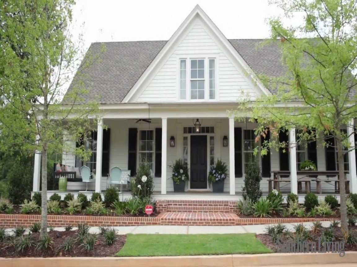 Country southern house plans southern living house plans for Southern country home plans