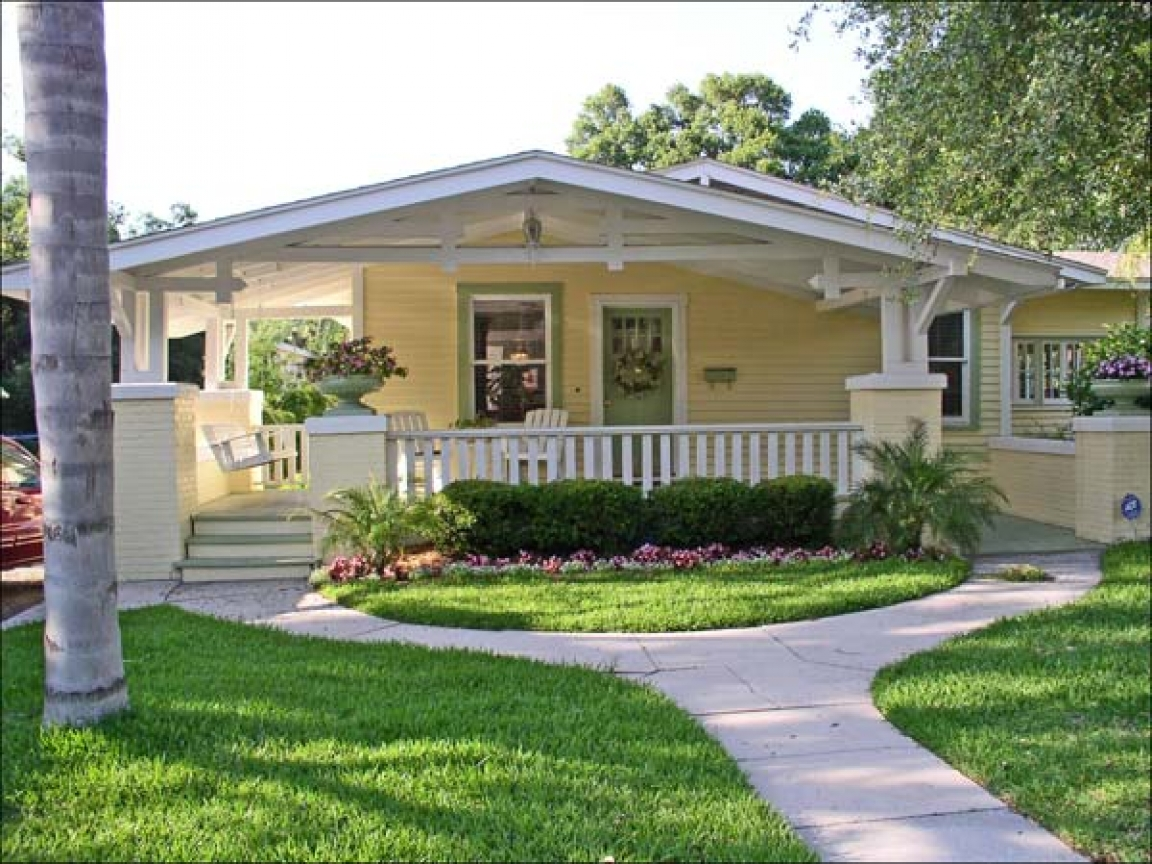Bungalow style house design craftsman house styles design - What is a bungalow style home ...