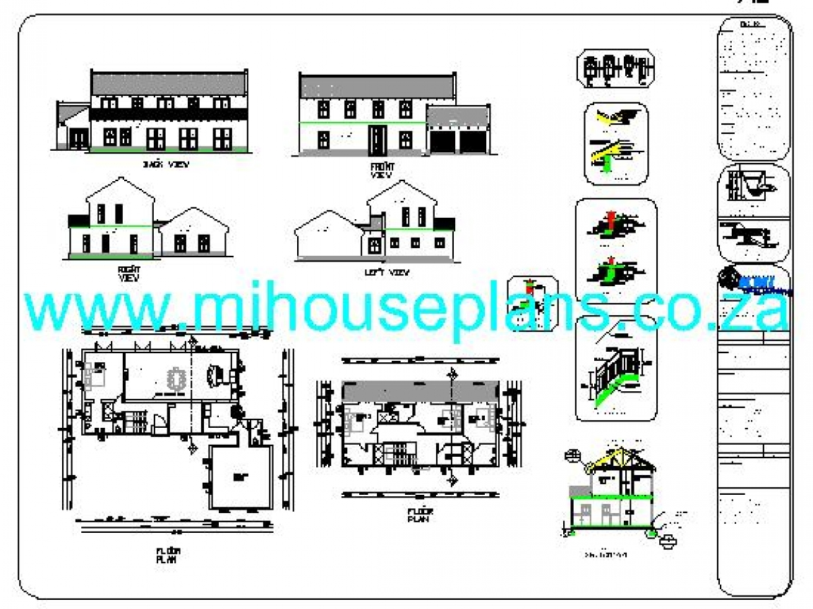 Free house plans south africa ranch house plans with for Free ranch house plans