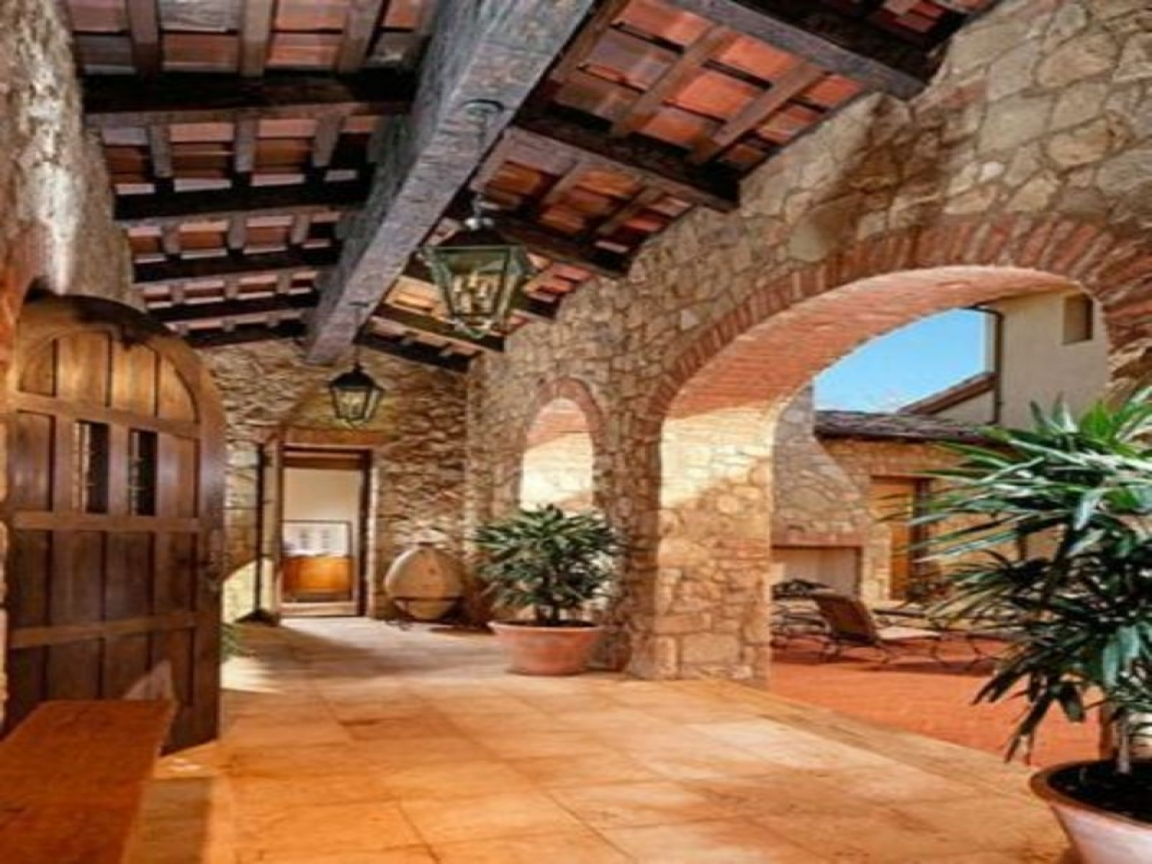 Tuscan courtyard landscaping tuscan style landscape design for Tuscan style house plans with courtyard