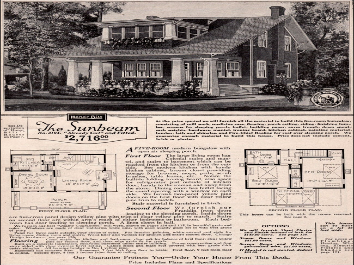 Sears And Roebuck House Plans Sears Roebuck Homes Two