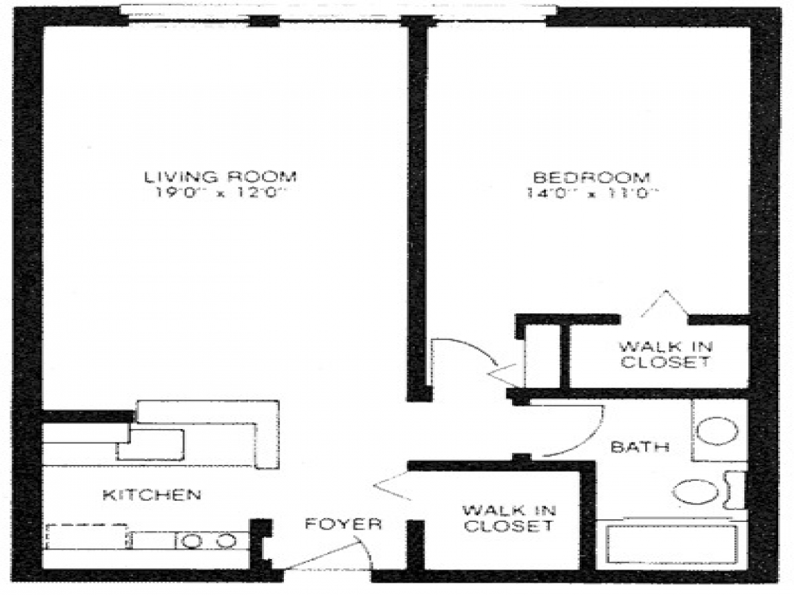 600 Sq Ft Studio 600 Sq Ft Apartment Floor Plan 600 Sq Ft