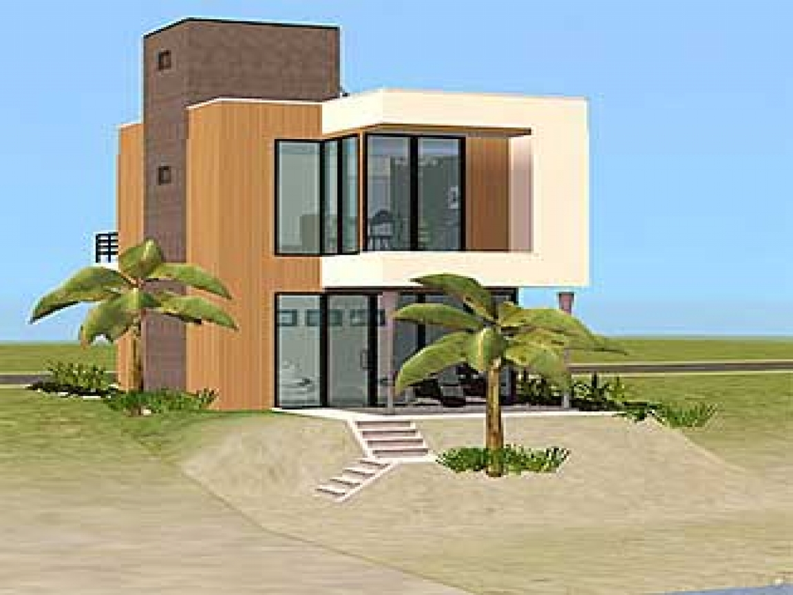 Small beach house plans simple small house floor plans for Small beach home designs