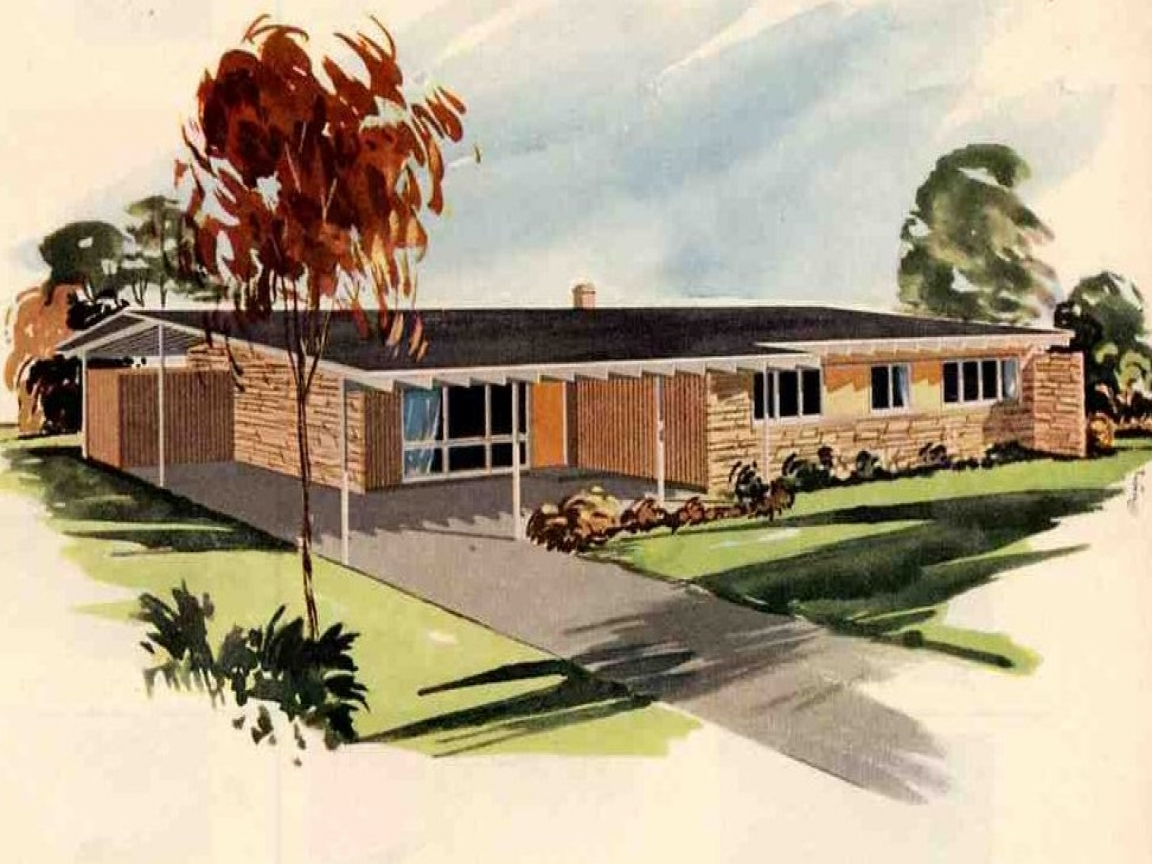 Ranch style house plans 1950s 1950 california ranch style houses 1960 house styles - California ranch style house plans ideas ...