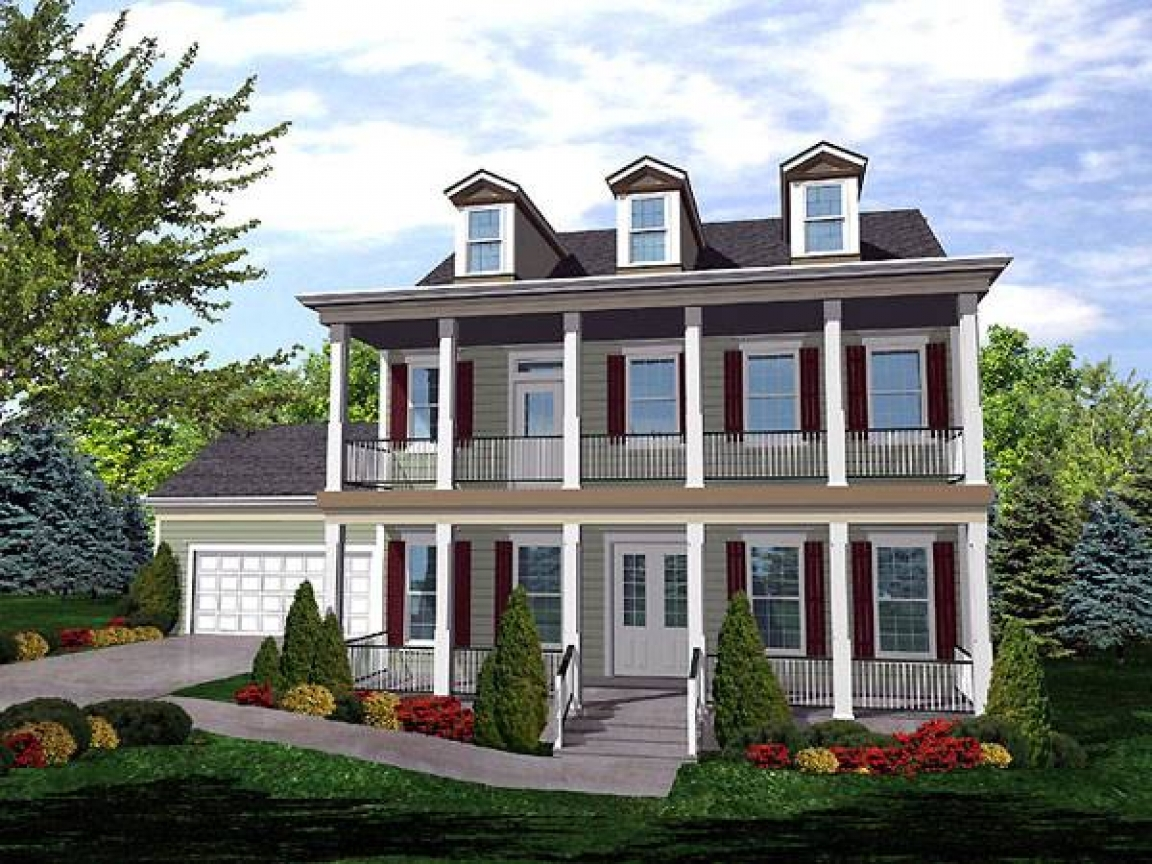 Cape cod colonial house american colonial house plans for Colonial style homes floor plans