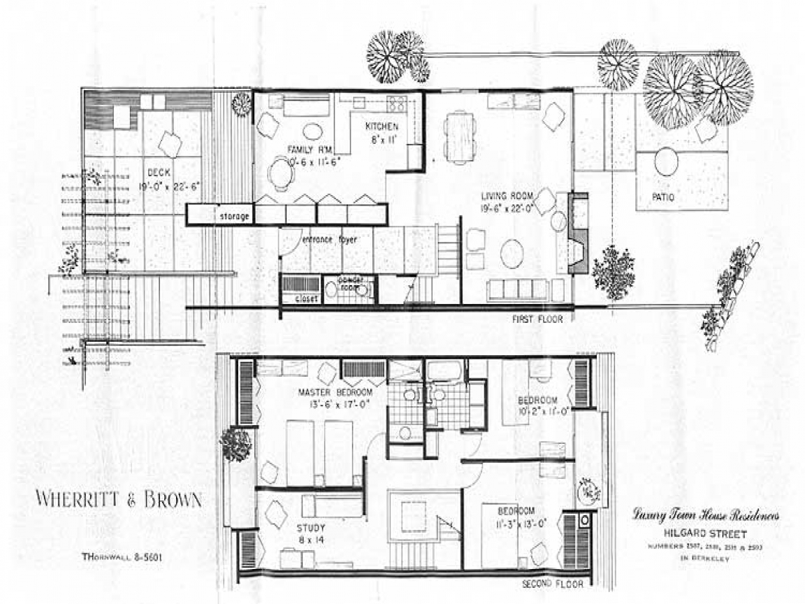 Mid century modern interiors mid century modern homes for Mid century modern floor plans