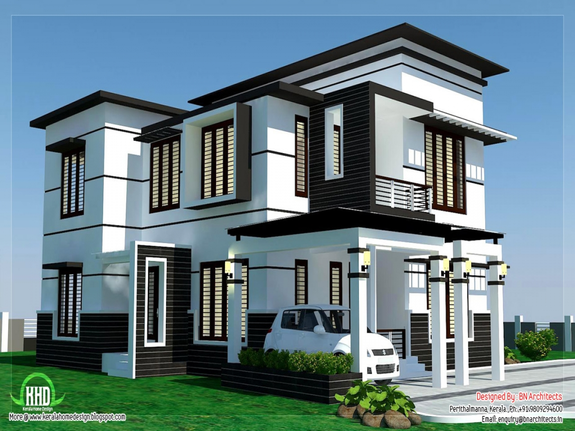 Home modern house design modern house mansion house for Mansion house design