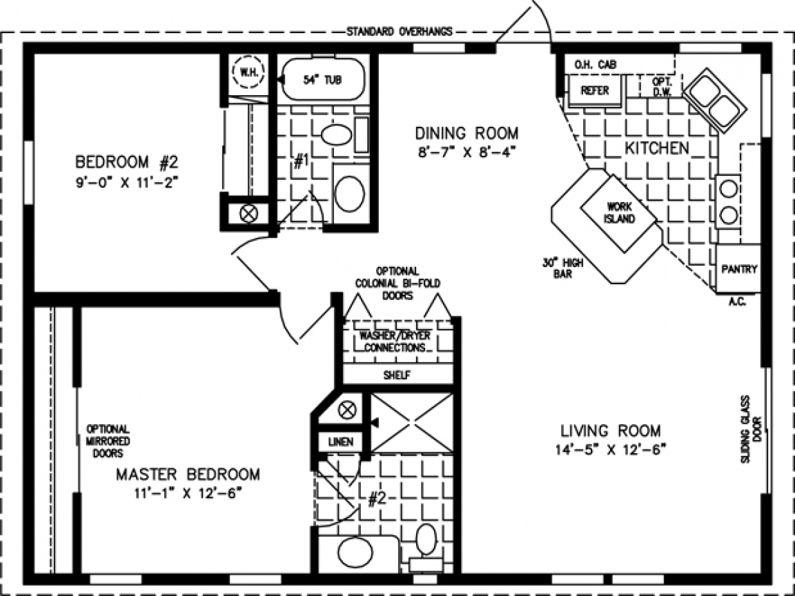 800 sq ft cabin 800 sq ft house plans 800 square foot for Home plan 800 square feet