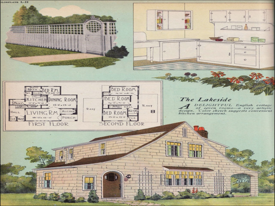 English Cottage Style House Plans Cottage Style House