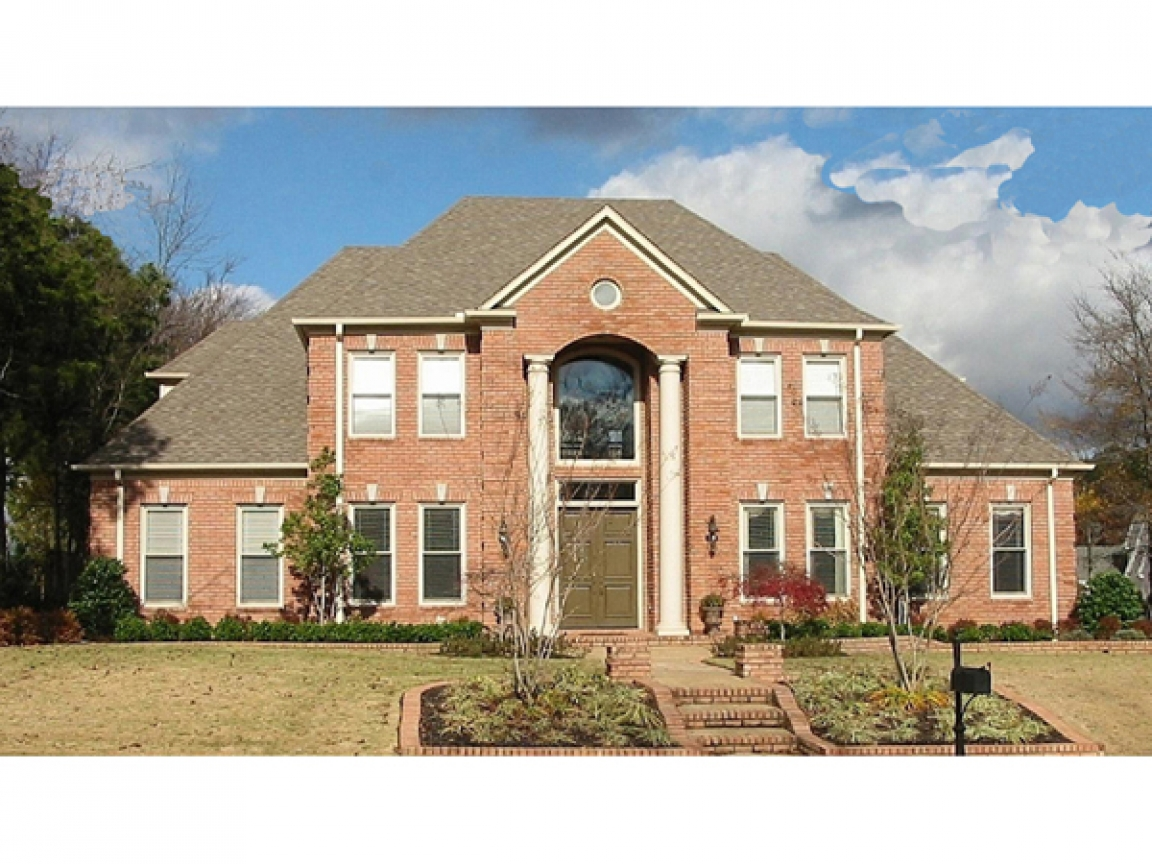 Two story brick houses insides brick two story house floor for Brick home floor plans