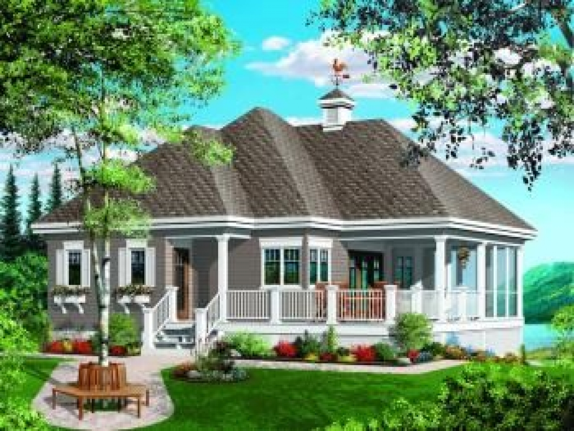 Small lake house plans lake cottage house plans small for Small cottage home designs