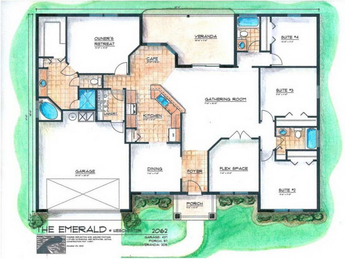 Master bedroom addition floor plans before and after for Two bedroom addition floor plan