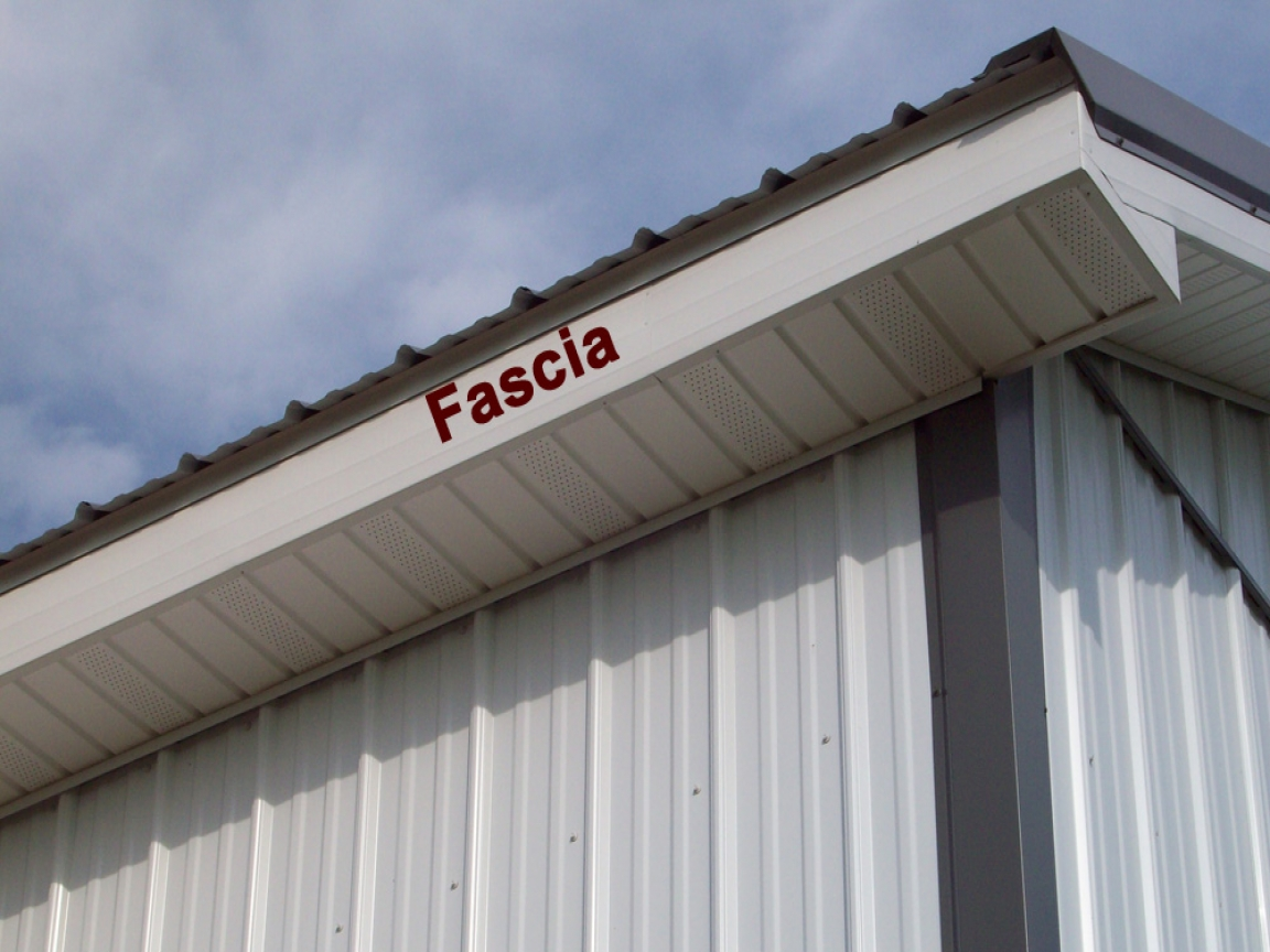 Metal Roof Trim Fascia Metal Roof Ridge Vent Systems