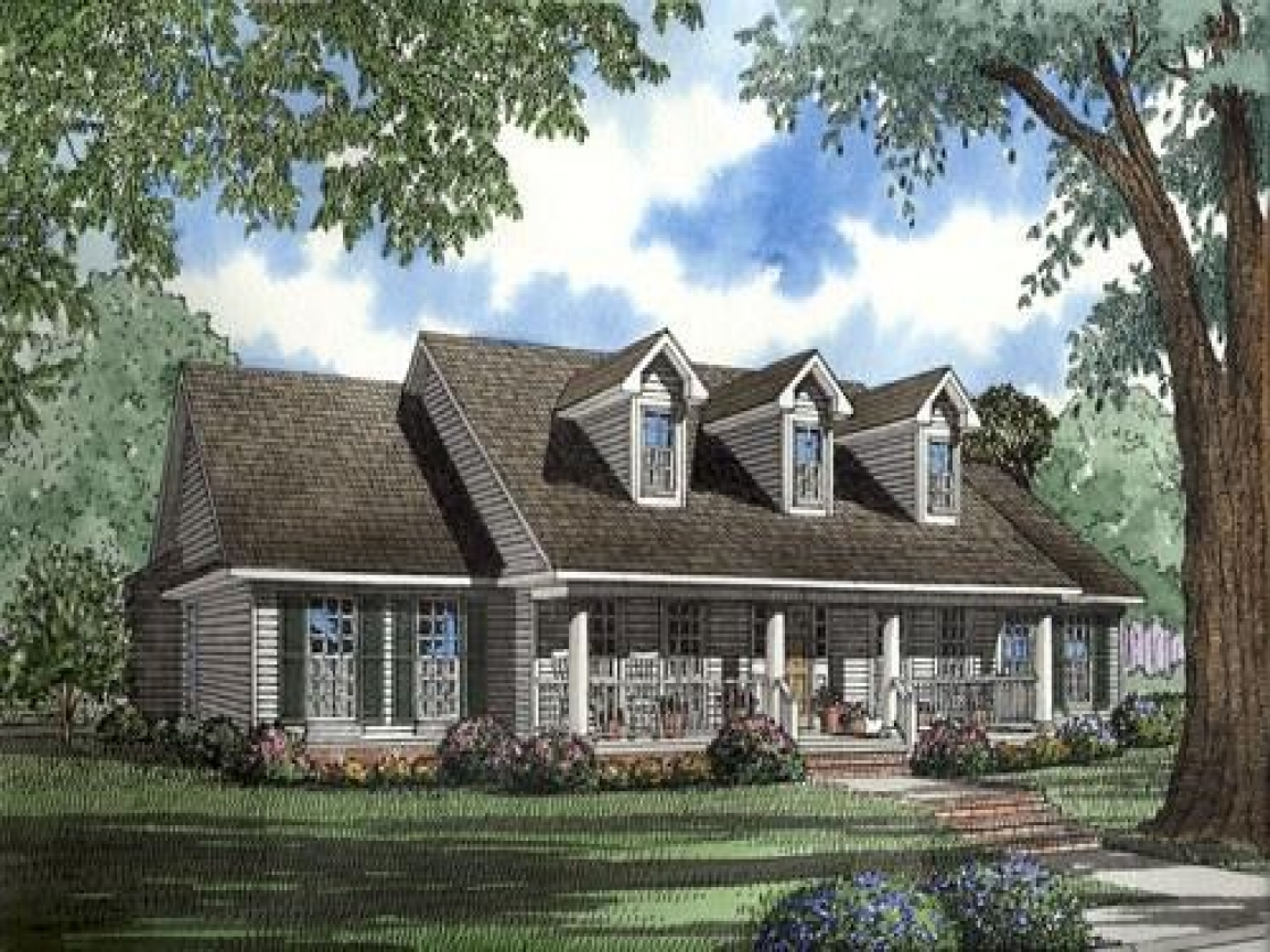 Southern country homes southern country style house plans for Southern country house plans