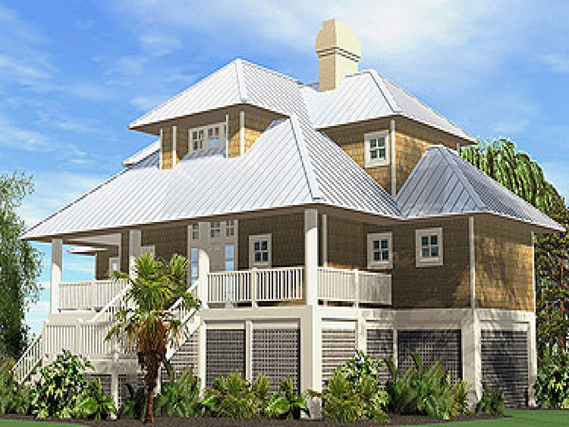 French country cottage house plans beach cottage house for Beach home plans on pilings
