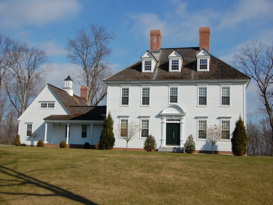 Adams style house plans classic federal colonial homes for Custom colonial homes