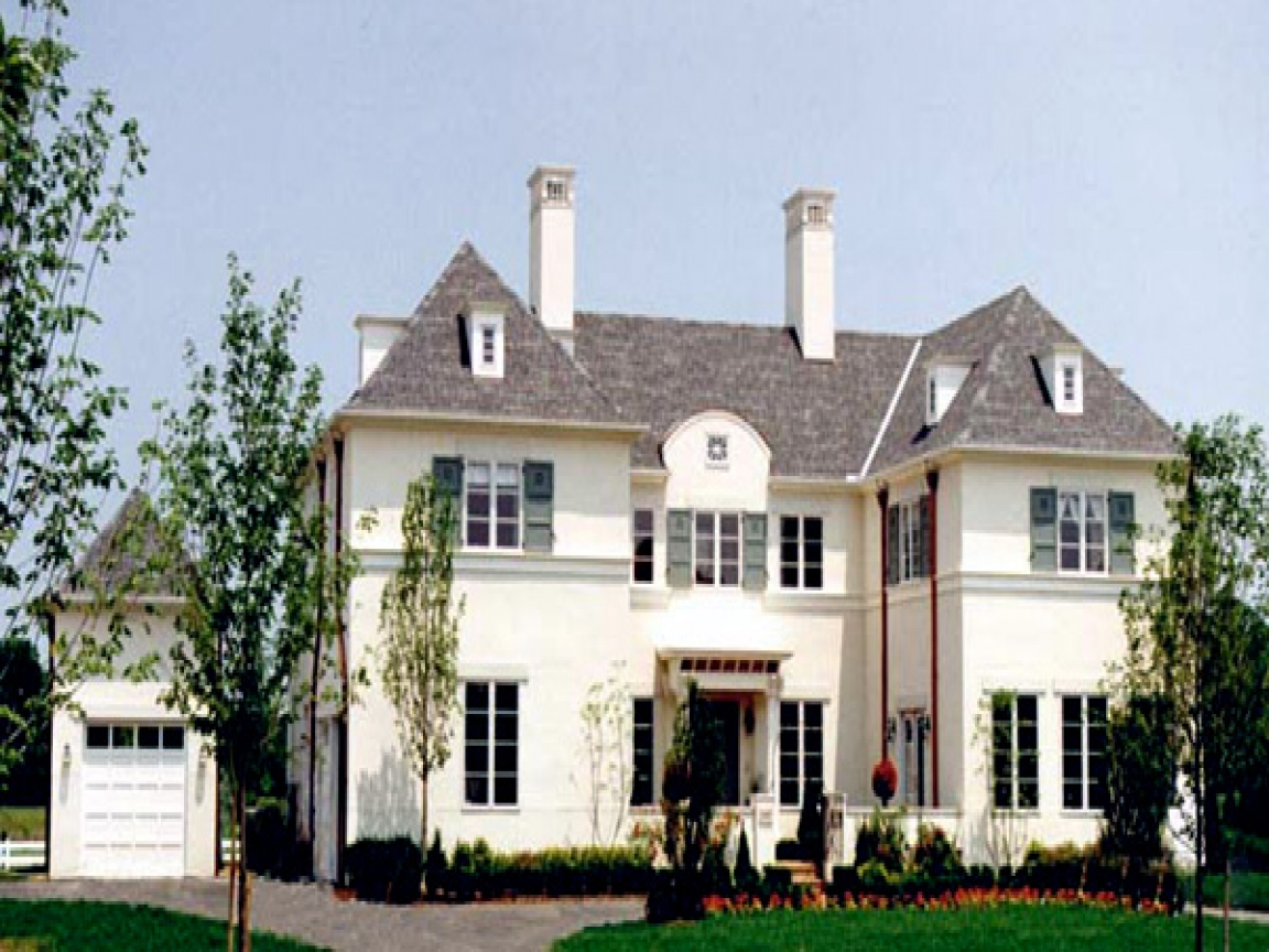 French Country Style Homes French Country Architecture