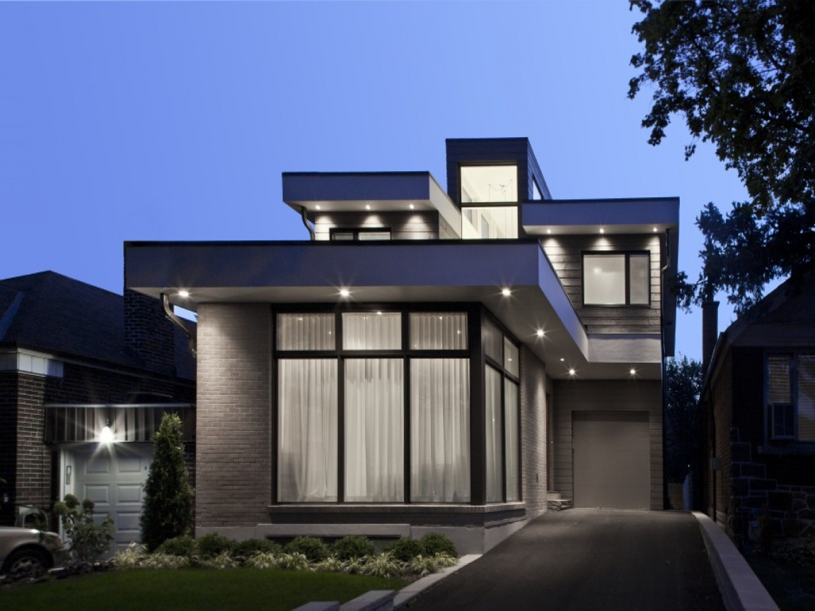 Small modern house architecture design simple small house for Modern compact home designs