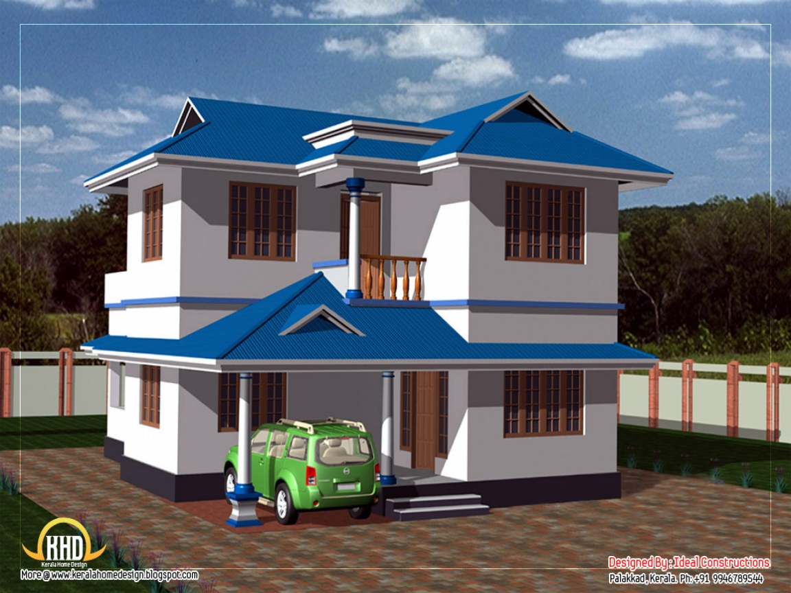 Small Two Story House Plans Philippines Duplex House