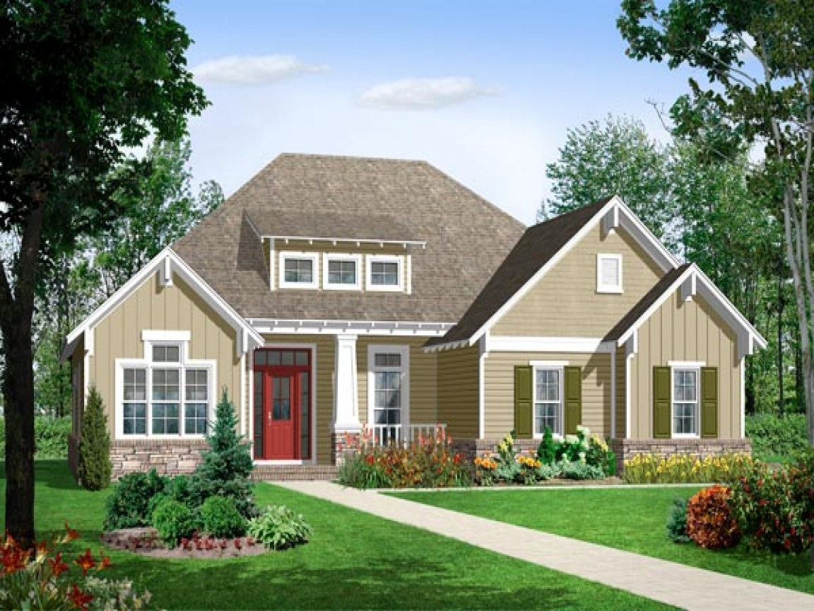 Craftsman Style Columns Craftsman Style Bungalow House
