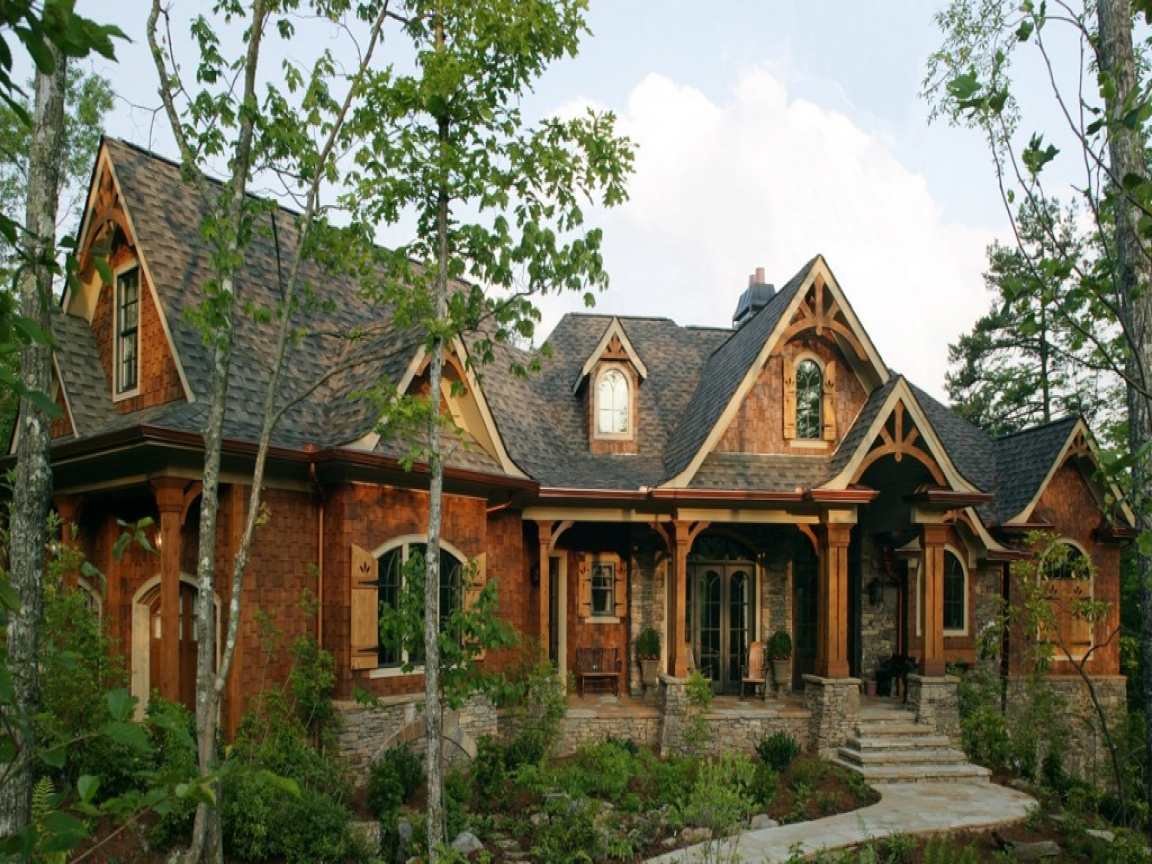 Rustic mountain style house plans rustic luxury mountain for Mountain home designs ideas