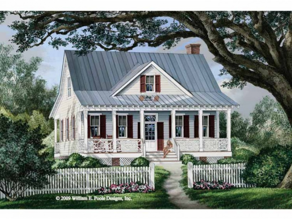 Fairy tale cottage house plans cottage country farmhouse for One level farmhouse house plans