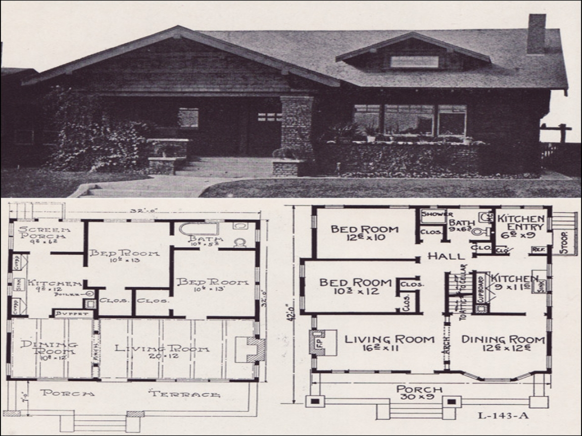 1920 bungalow house plans bungalow house plans with for 1920 bungalow house plans