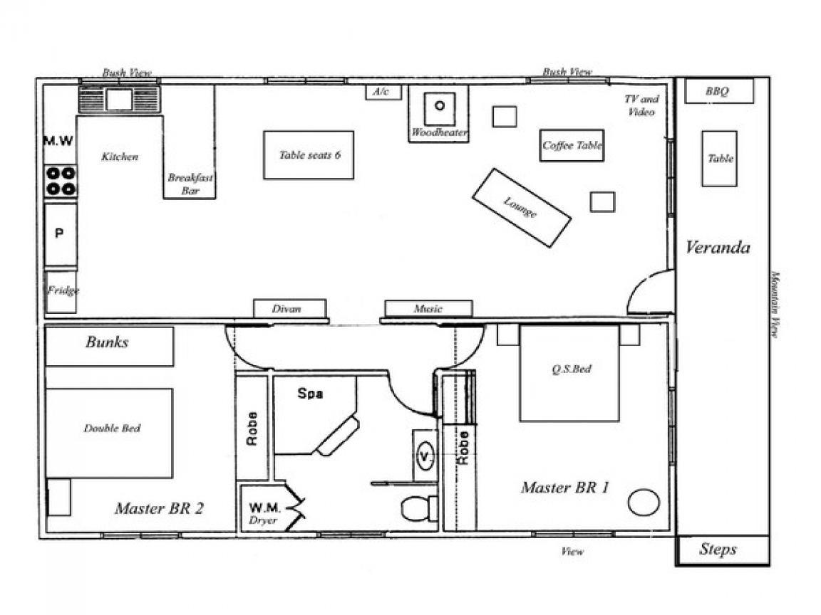 Home Design Ideas Floor Plans: Country Home Designs Floor Plans Open Floor House Designs
