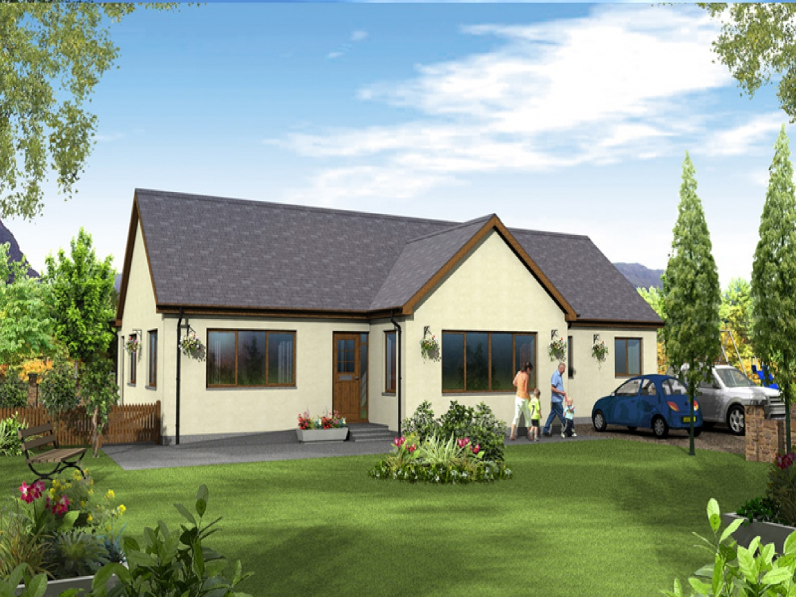 Log Cabin Bungalow : Custom kit homes design and planning services in the north
