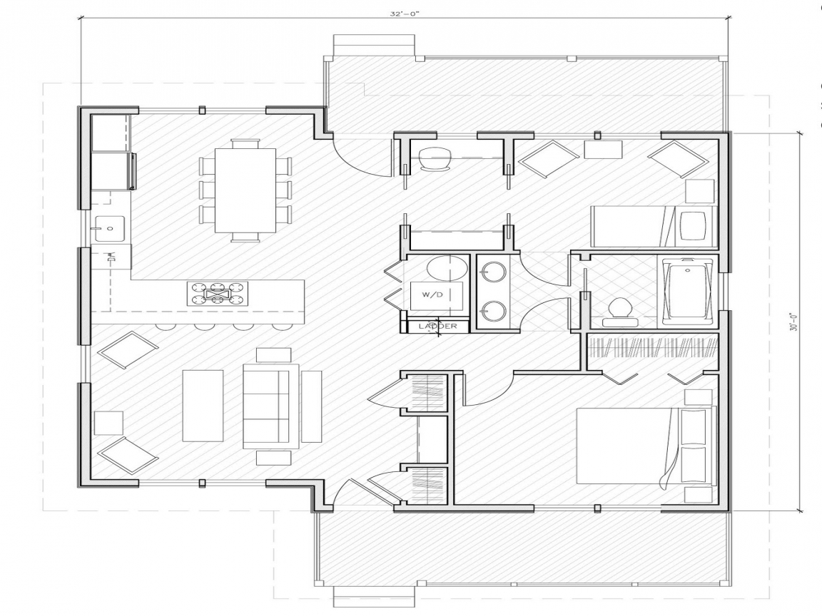 Small house plans under 1000 sq ft simple small house for 5 bedroom house plans under 2000 square feet