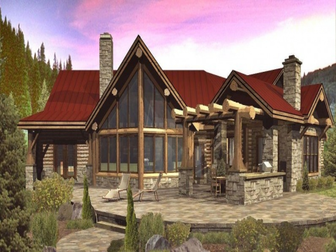 Wisconsin log homes floor plans tomahawk log homes open for Open floor plans log homes
