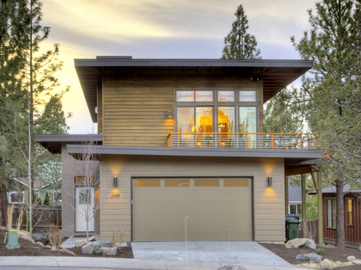 Contemporary ranch house plans contemporary style house for Oregon house plans
