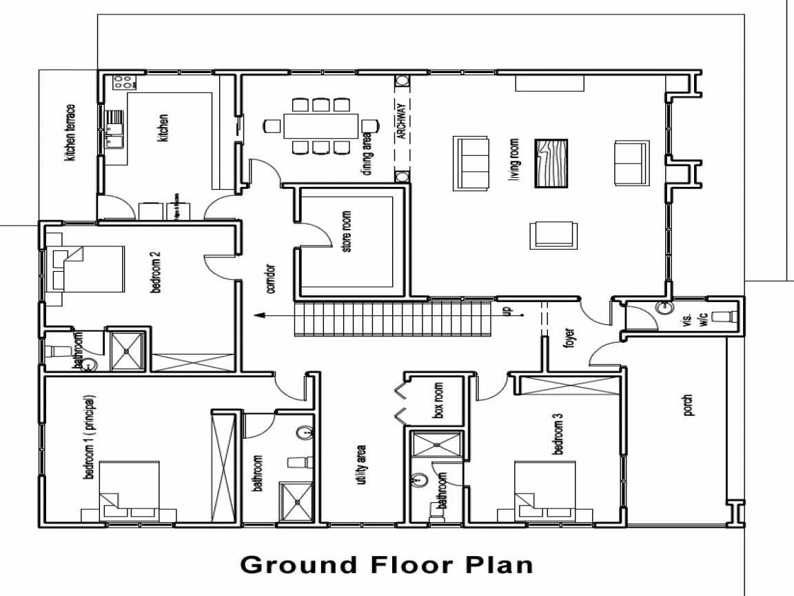 Ghana House Plans Architectural Designs House Plans In