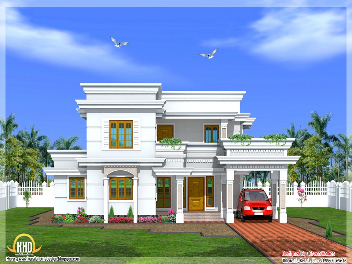 House plans kerala home design kerala single floor house for Double storey beach house designs