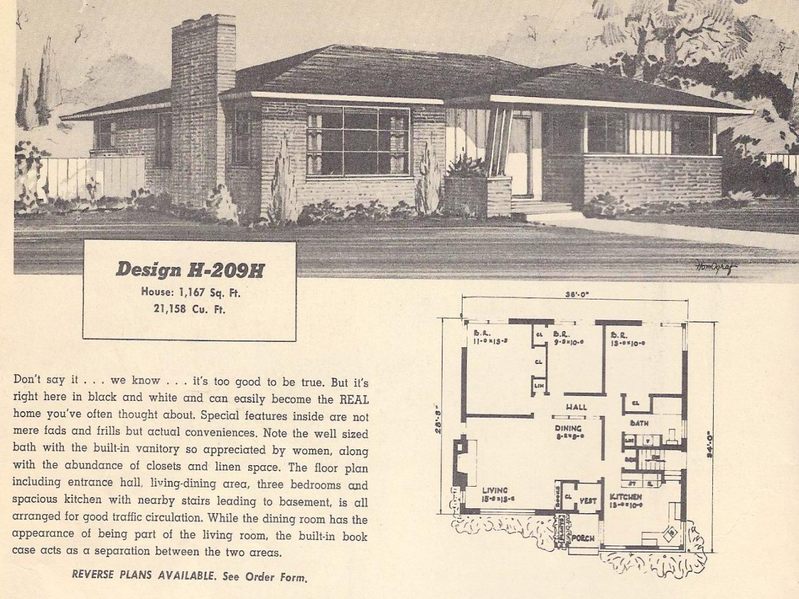 One story luxury house plans vintage ranch house plans for Vintage ranch house plans