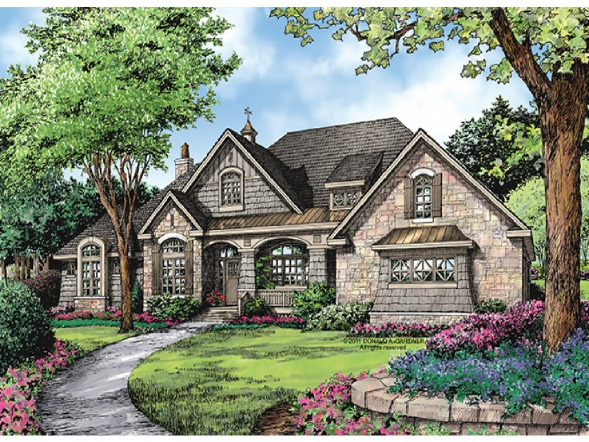 Single story mansions single story luxury house plans one for Luxury single story home plans