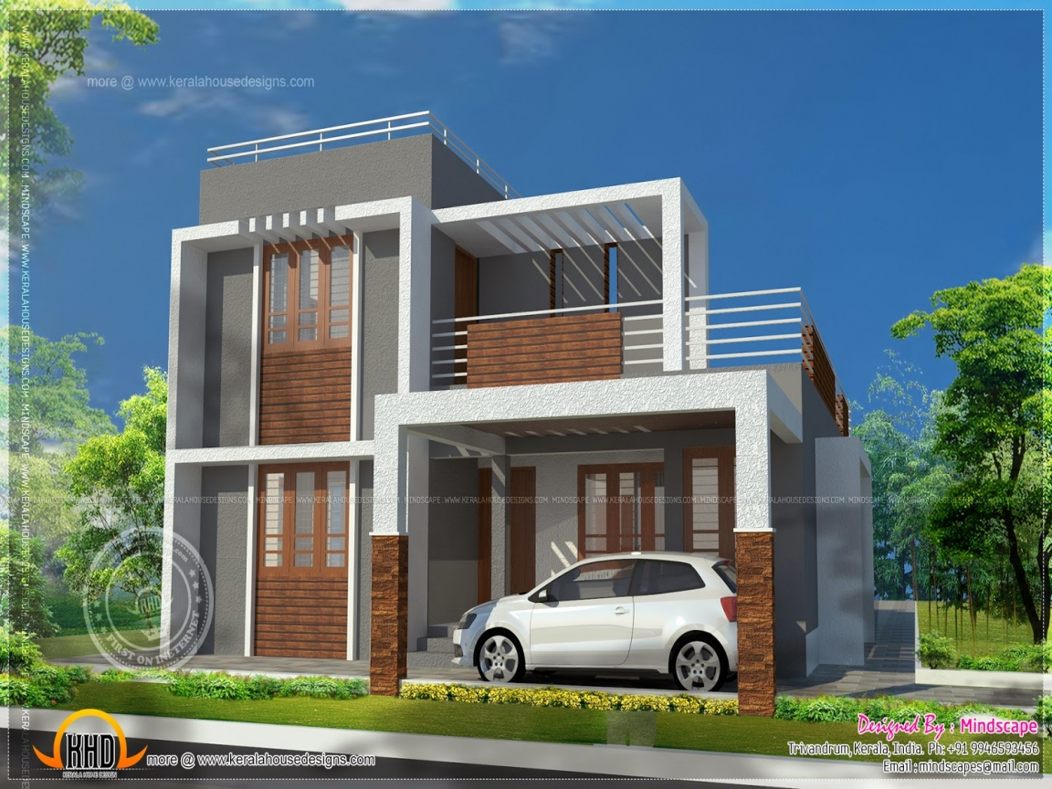 Small Flat Roof Contemporary House Plans Flat Roof Dog