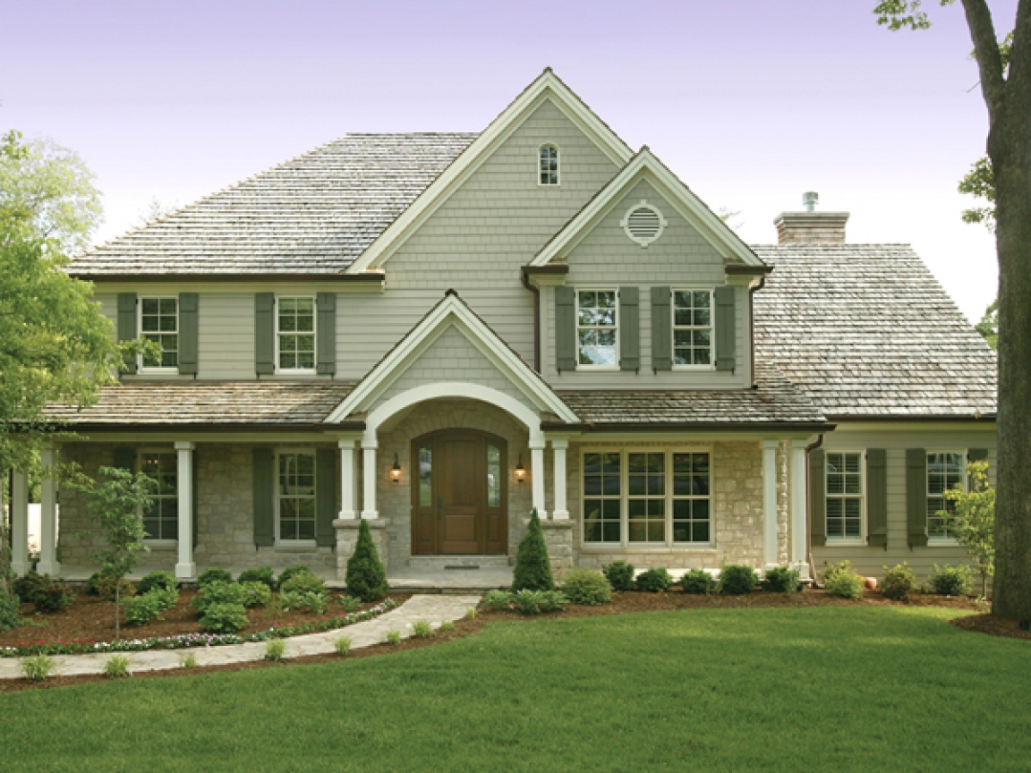 Traditional 2 story house plans modern 2 story house plans for Traditional house plans two story