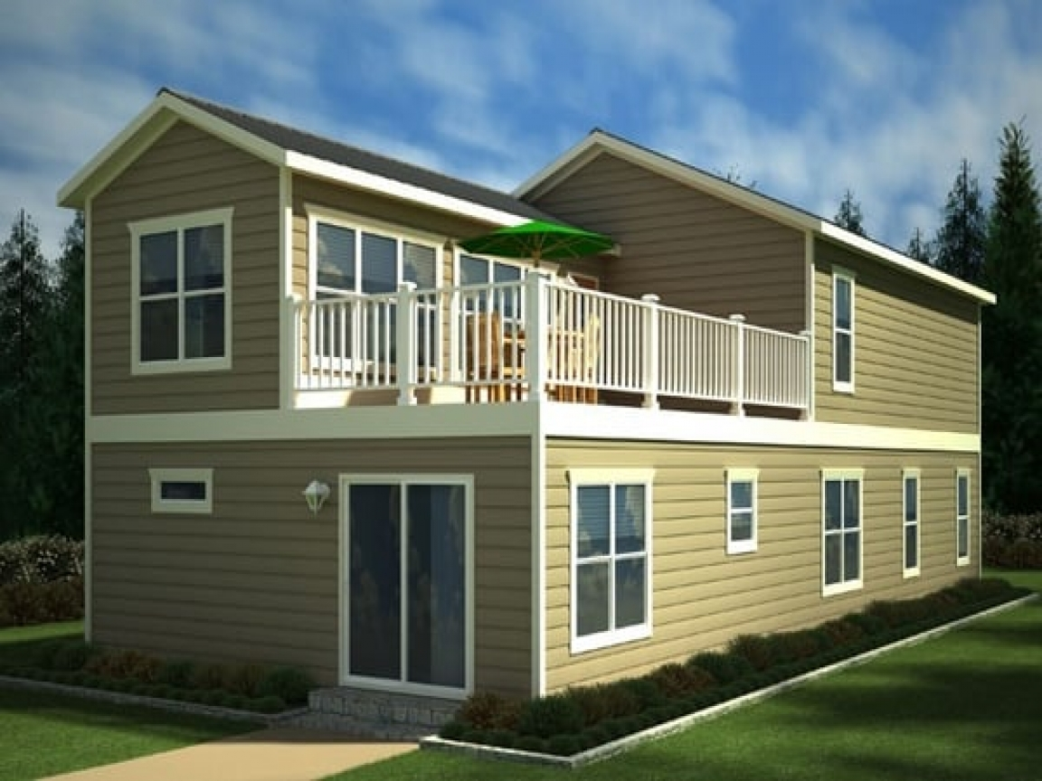 Two Story Mobile Homes Two Story Double Wide Home Trailers