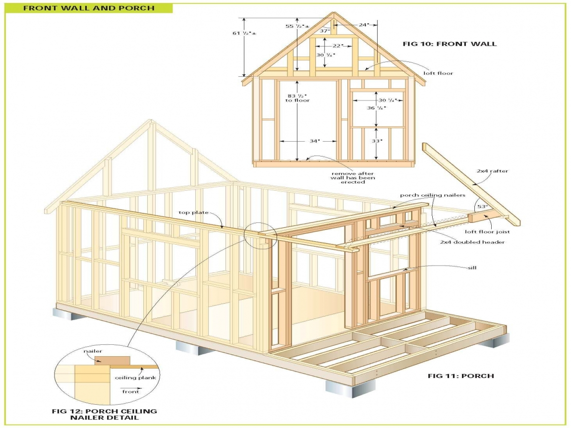 Wood cabin plans free cabin floor plans free bunkie plans for Wood cabin plans
