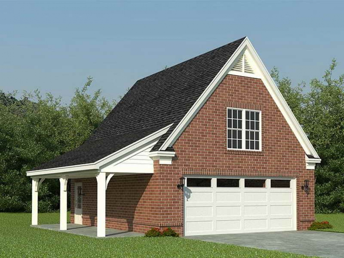 2 car detached garage plans with loft detached 2 car for Detached garage kits