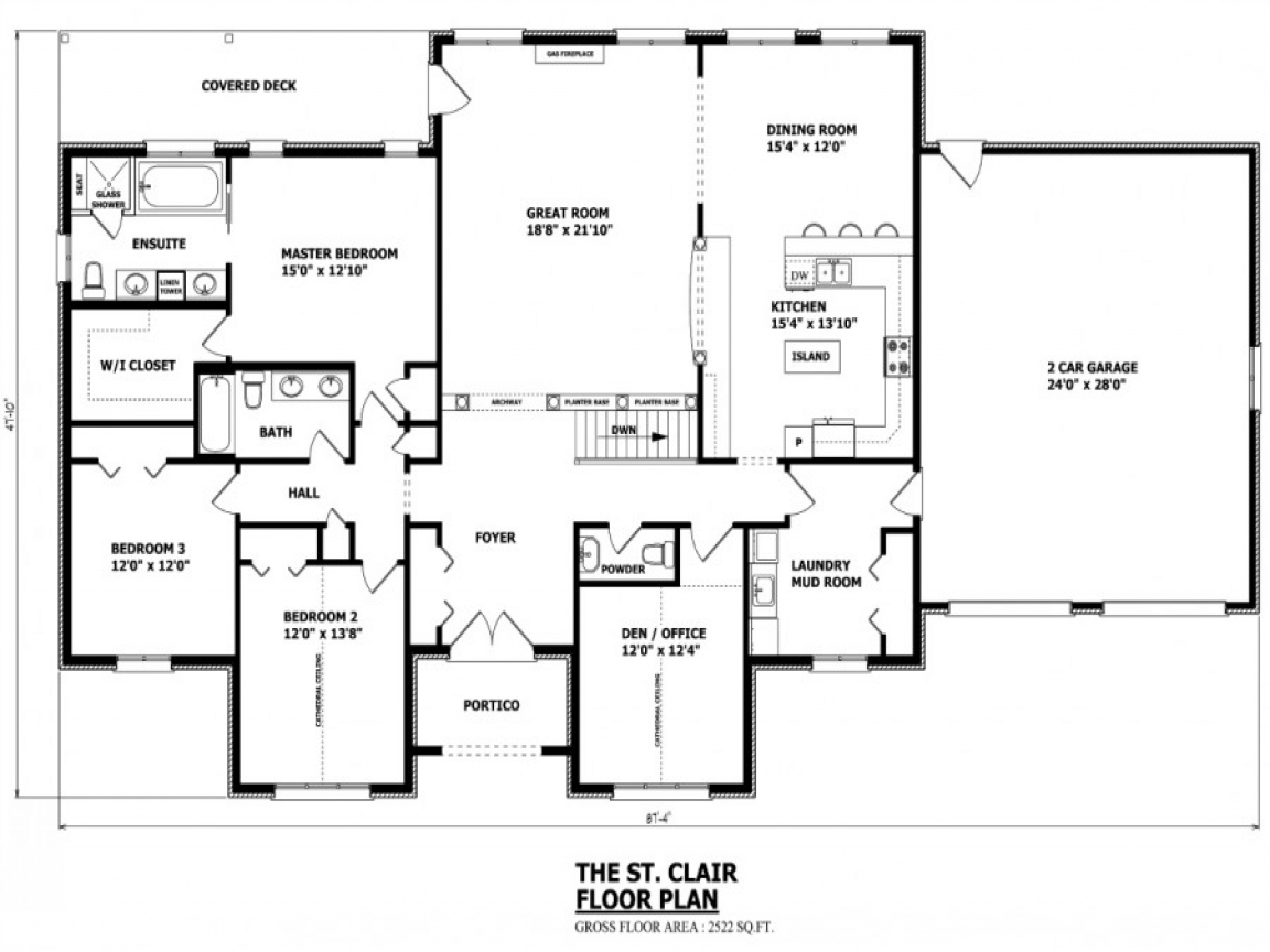 Canadian home designs floor plans modern home design for Home plans canada