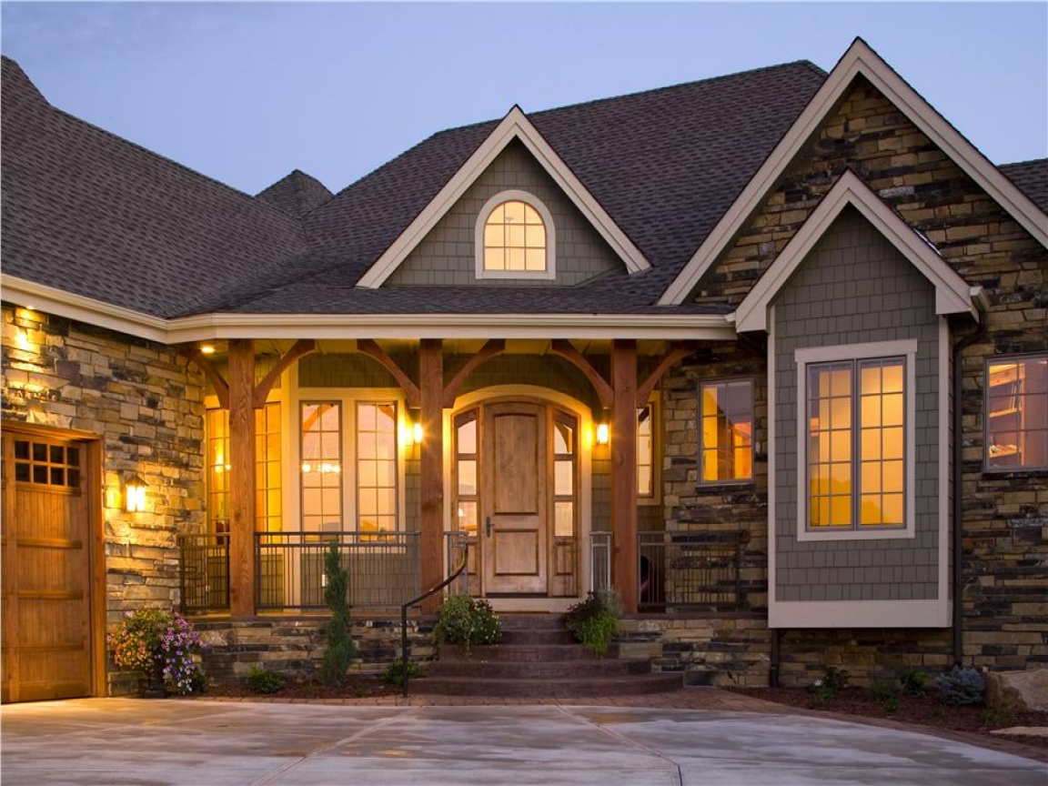 Exterior home house design ranch style house exterior for Exterior home design styles