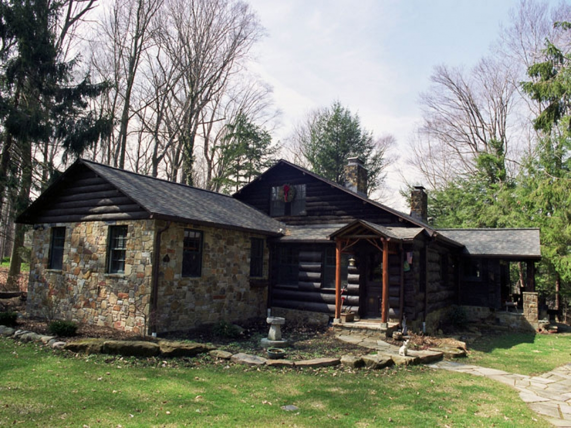 Home additions contractors new homes additions for Log cabin additions ideas