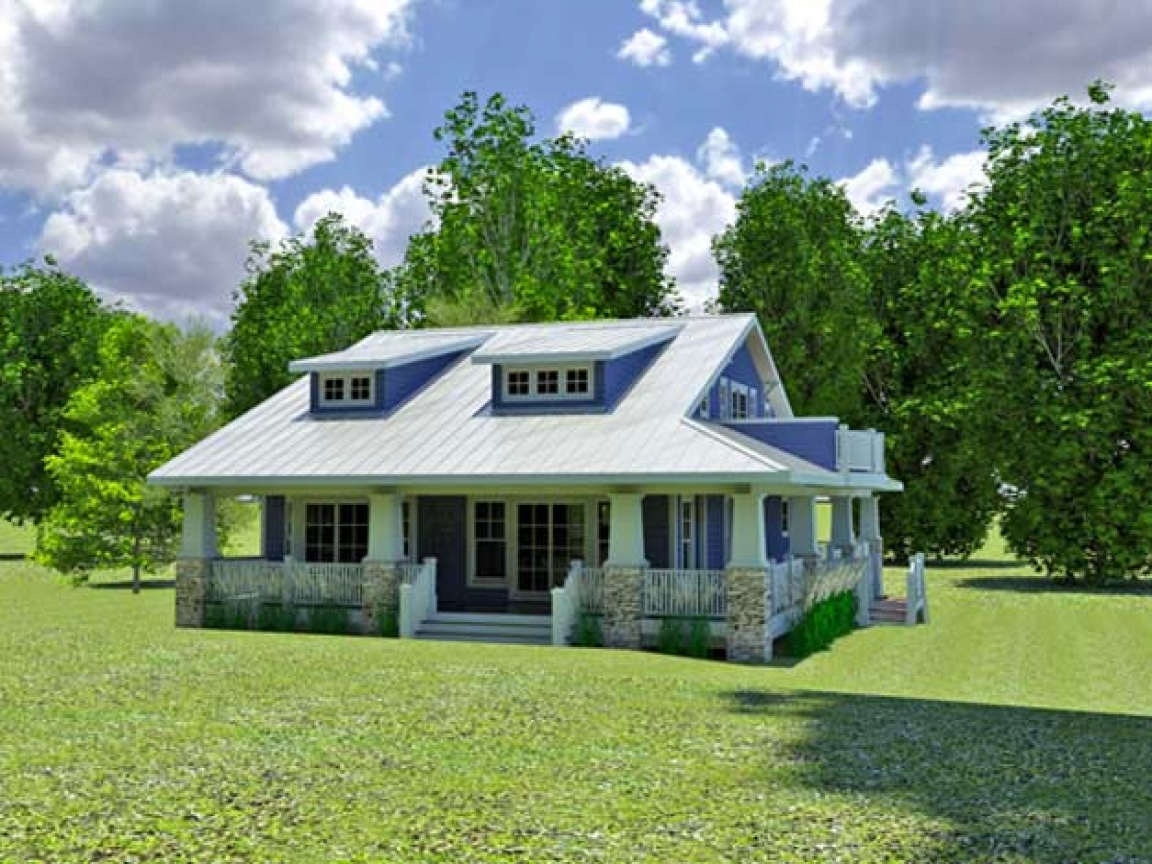 House plans for hillside lots vacation home plans hillside for Hillside garage plans