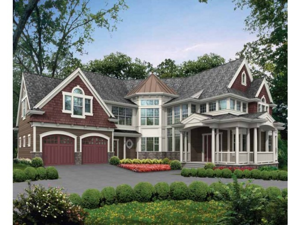 House plans with towers mountain house plans with lookout for Unique craftsman house plans