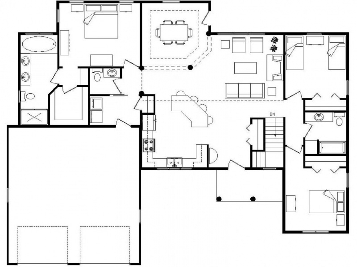 1000 Ideas About Small Cabin Plans On Pinterest: Log Homes With Open Floor Plans Log Homes With Cathedral