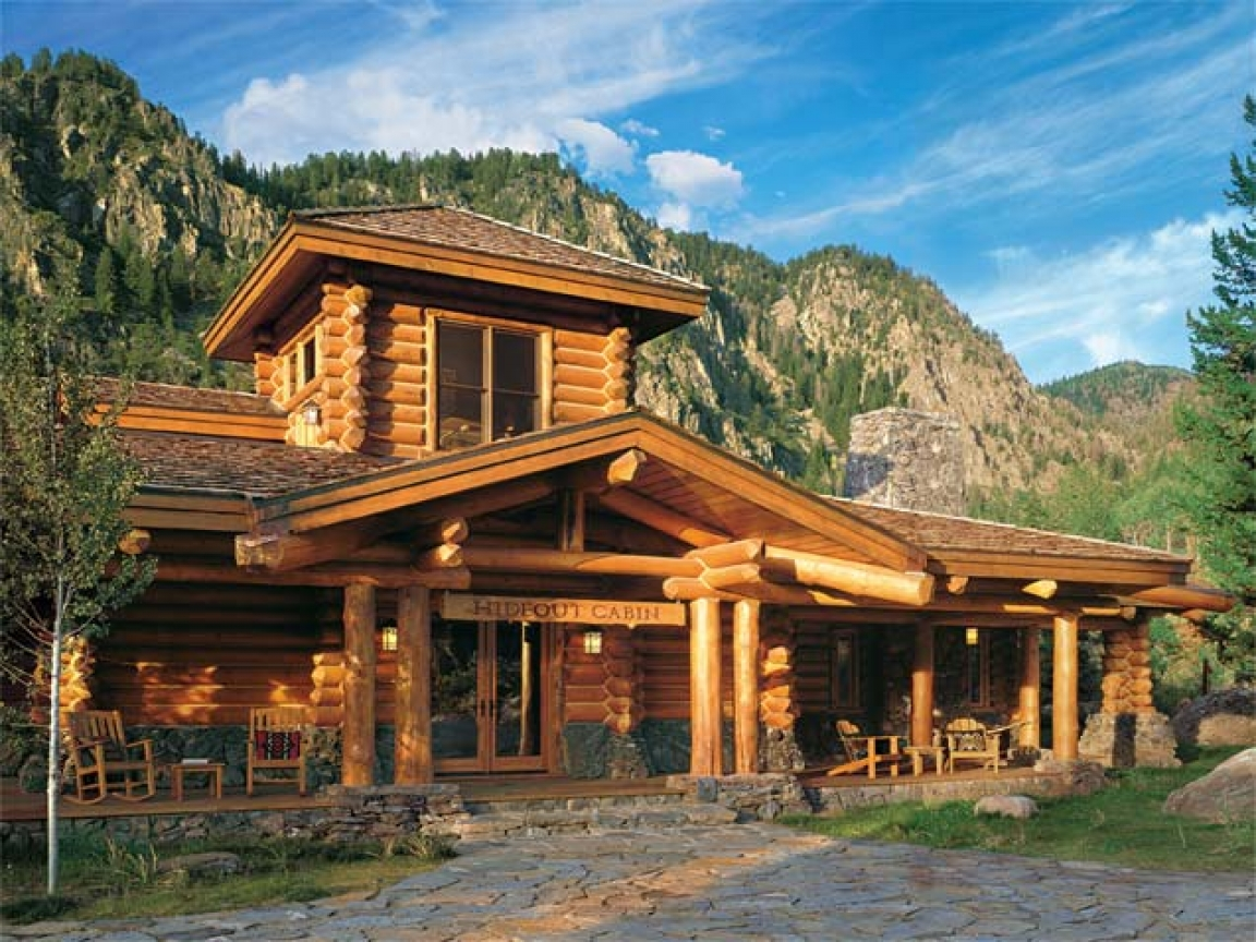 Luxury log cabin homes interior luxury log cabin home for Luxury timber homes