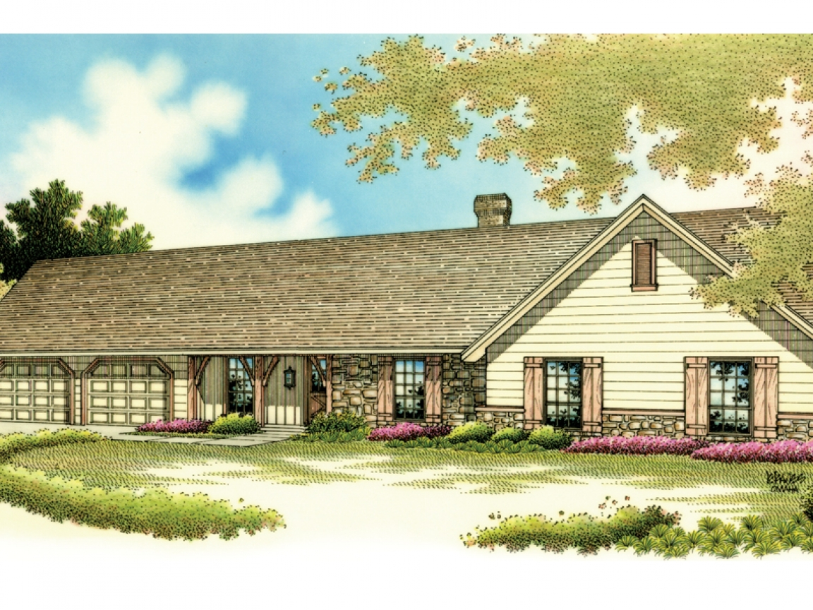 Rustic country house plans rustic ranch style house plans for Rustic country homes