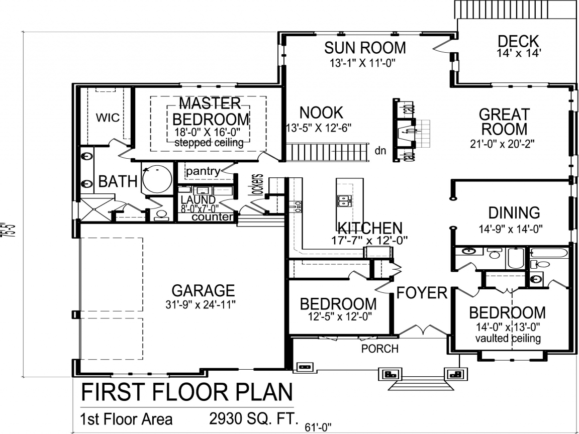 3 bedroom 2 bath house plans 1550 sq ft 3 bedroom 2 bath for Three bedroom two bath floor plans